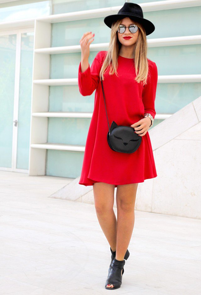 Cute-and-Chic-Red-Dress-for-Valentines-Day