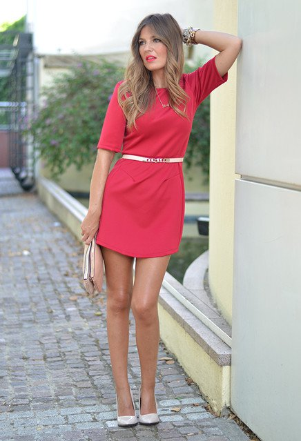 Simple-Red-Dress-for-Valentines-Day
