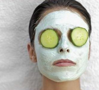 cucumber mint mask