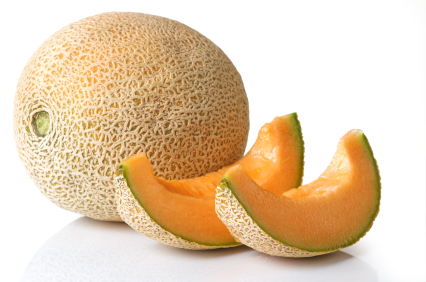 Cantaloupe Whole With Slices